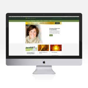 Webside for Britt Bjørgård